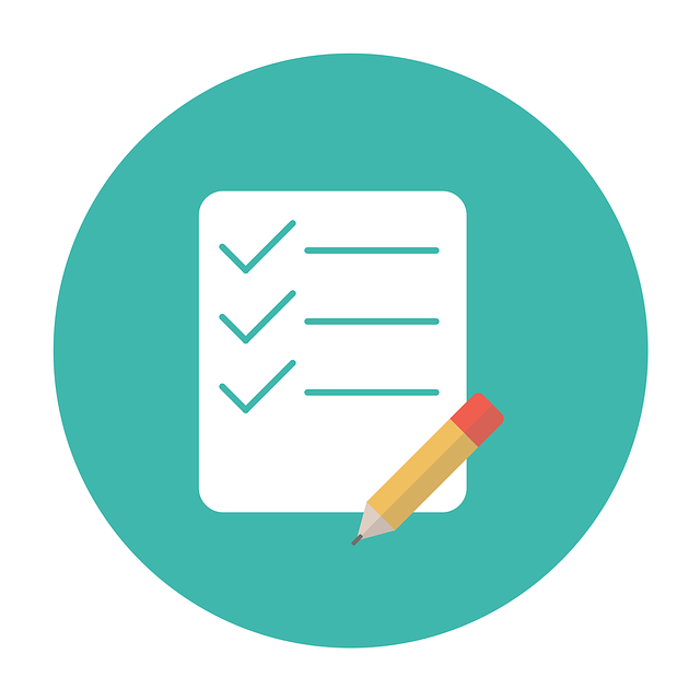 A checklist to indicate proofreading and editing experience.
