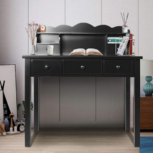 Computer Work Station with Detachable Hutch