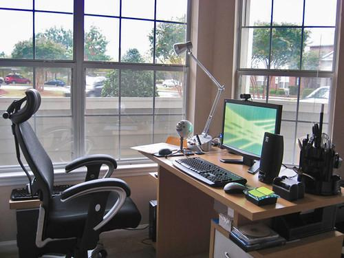 Ensure you have an ergonomic home office