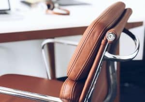 best home office chair leather chair close up