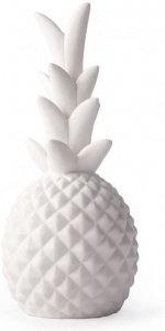 White pineapple LED light