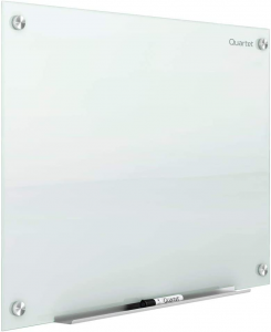 Image of a glass whiteboard