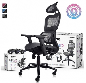 Black Nouhause office chair with box