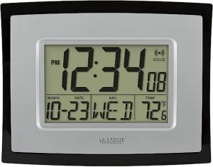 Digital La Crosse Wall Clock