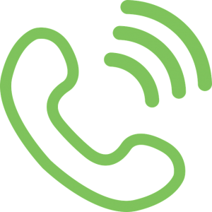 Green call icon