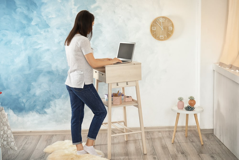 best ergonomic chair for standing desk at home
