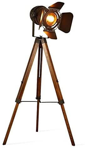 Vintage Tripod Floor Lamp for office ambiance