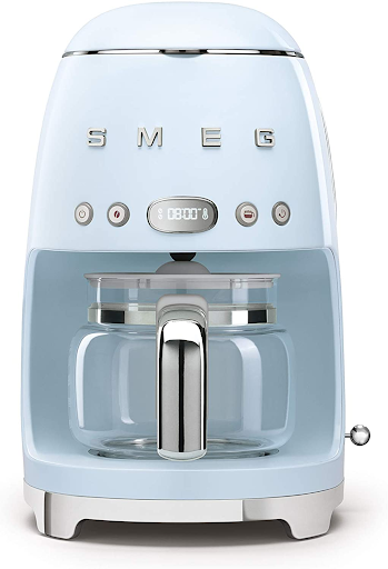 Fill your home office with smell of coffee with this SMEG coffee machine.
