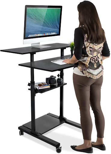 Mobile standing desk - a practical office gift