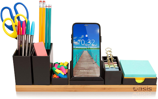 A desk organizer is a practical gift for office