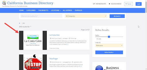 Enrol your business in a local directory