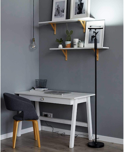 LED standing lamp for home office