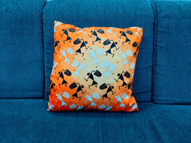 Scatter cushions can bring pops of colour to your office space.