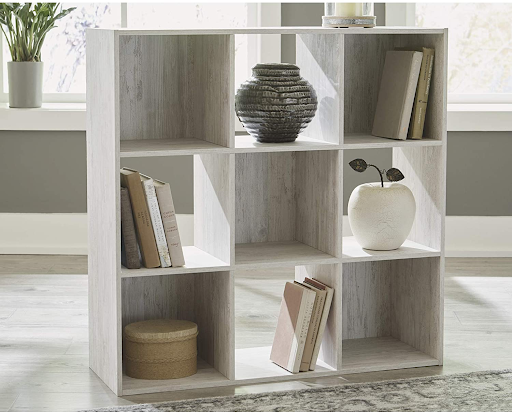 Cubby storage for home office
