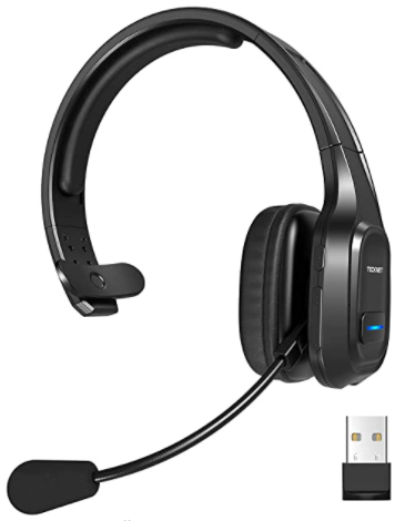best wireless headphones with microphone for work for range